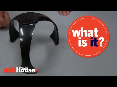 What Is It? | Black Plastic Spinning Object