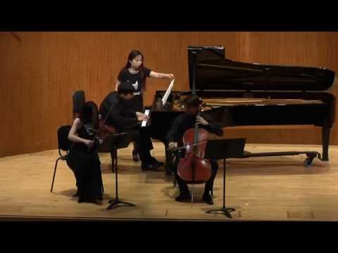 Mendelssohn Piano Trio No.2 in C Minor, Op.66 First Movement