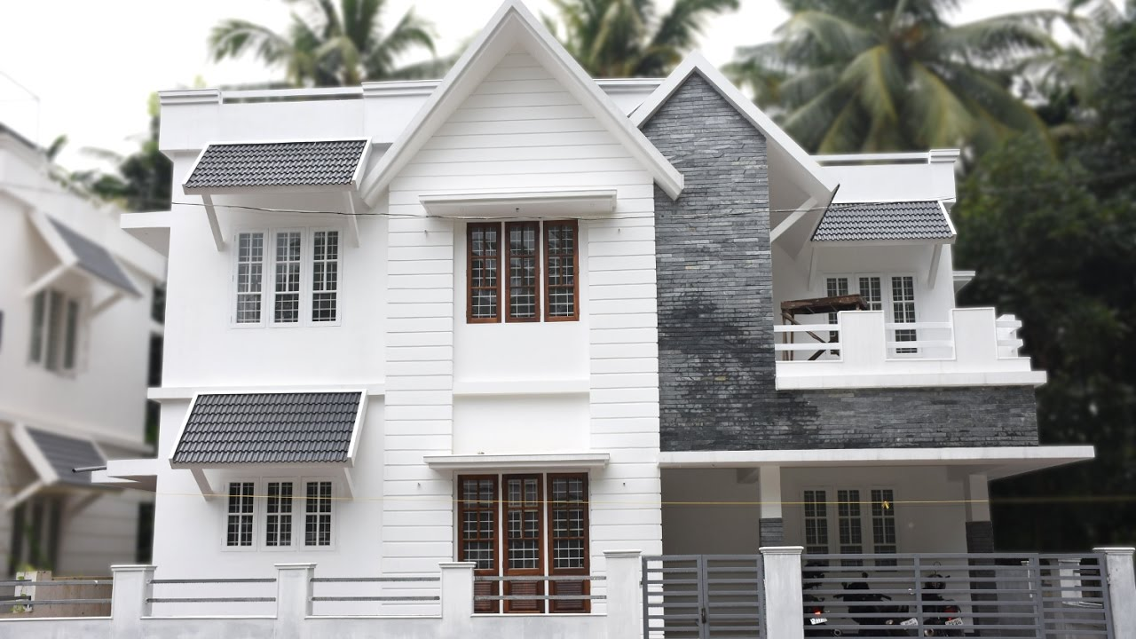 Angamaly 3 Cents Plot And 1430 Sq Ft Small Budget House