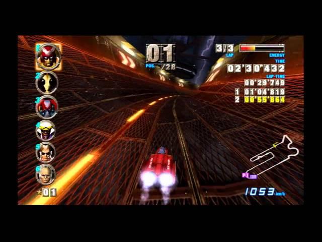 F-Zero GX Speed Run: Master Mode beaten with Blue Falcon [HD]