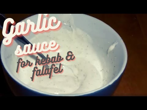Garlic Greek Yogurt Dressing for Döner Kebab How To Make a Yogurt Sauce for Kebab Recipe #52