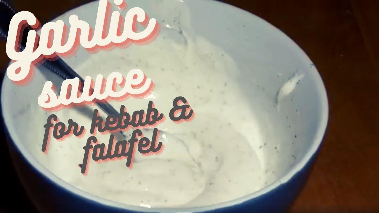 Garlic Greek Yogurt Dressing for Döner Kebab - How To Make ...