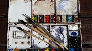 One Hour Watercolours   Trailer