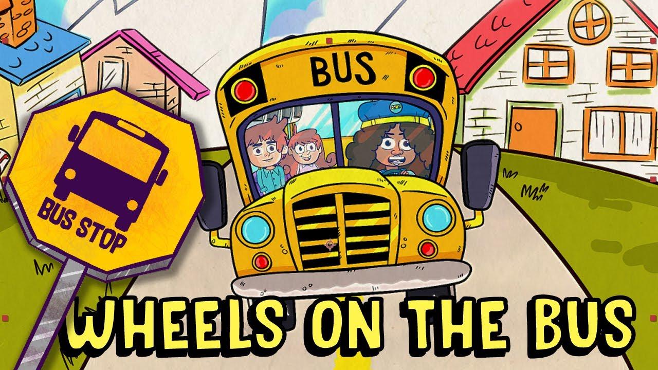 WHEELS ON THE BUS | Fun Educational Songs | Dance Dance | Sozo Studios Songs for Children
