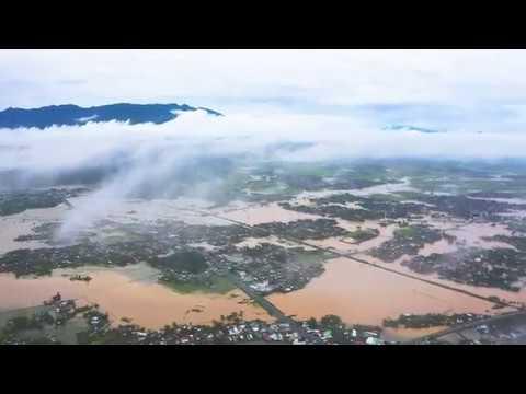 Xã Lũ sau bão số 6 tại Ninh Hòa Khánh Hòa [2019]