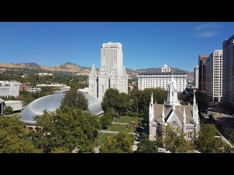 Salt Lake City, Utah (Temple Square & Capitol Hill) in 4 K/UHD
