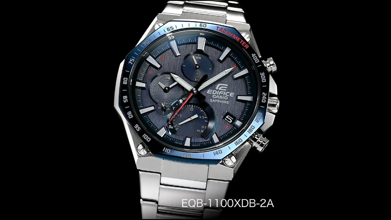 EQB-1100XDB-2A | KẾT NỐI ĐIỆN THOẠI THÔNG MINH | EDIFICE | Đồng hồ | CASIO
