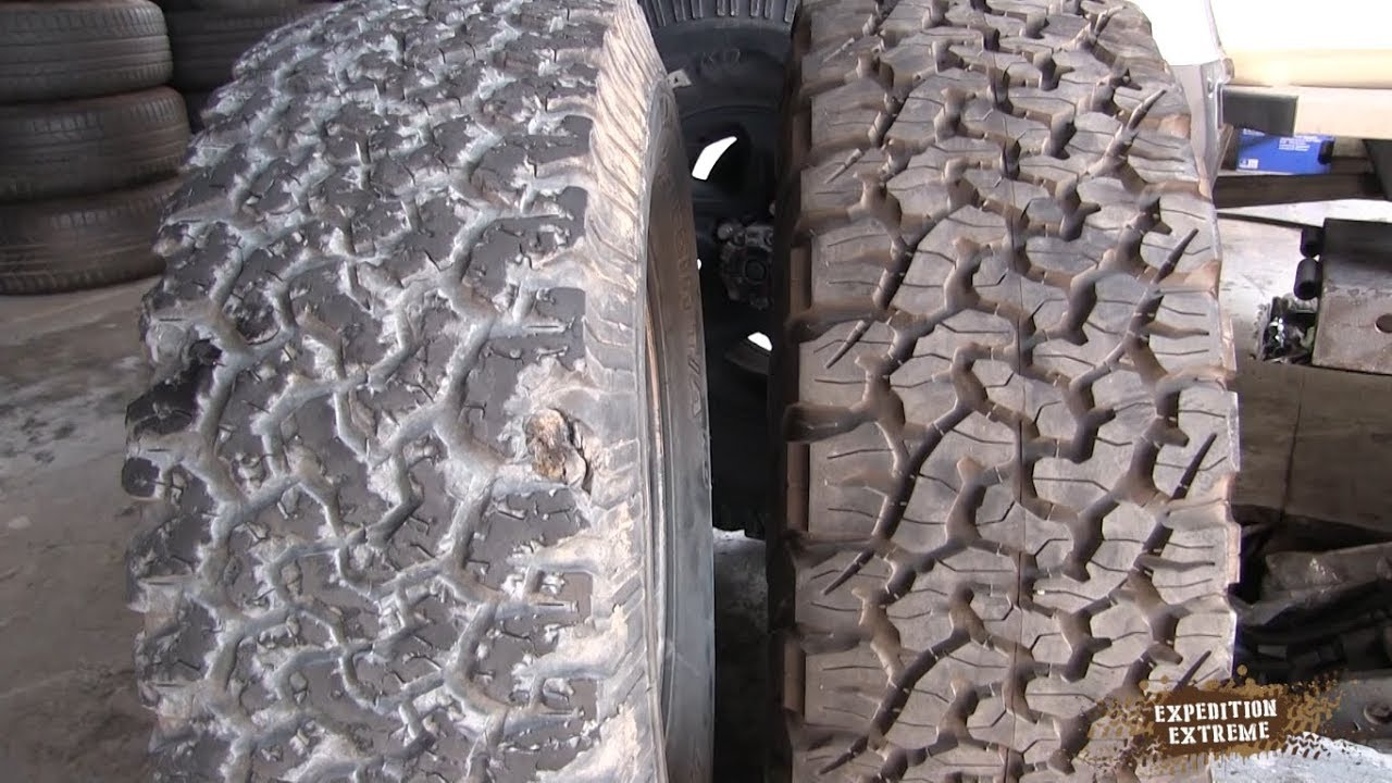 Bfg Ko 2 >> Bfgoodrich Ko2 35000km Vs Ko Review Youtube