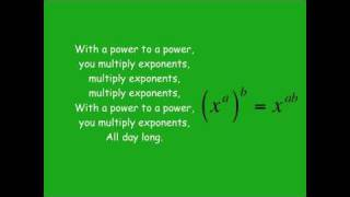 Exponents Song
