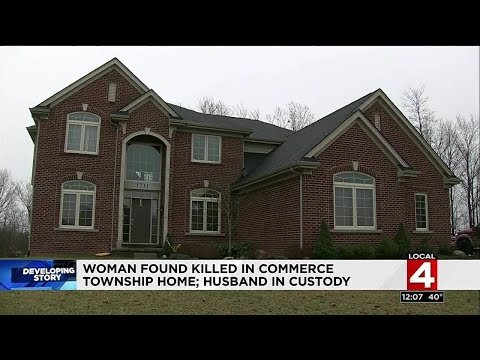 Woman found killed in Commerce Township home; husband in custody