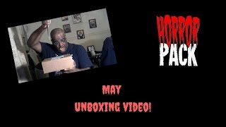 Horror Pack May unboxing video!