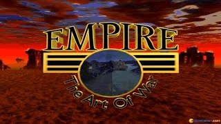 Empire II - The Art of War gameplay (PC Game, 1995)