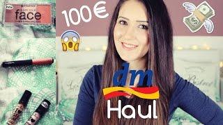 100€ XXL DM HAUL 2016 | NEUHEITEN März | Neue PRODUKTE Live TEST + REVIEW | Diie Jule