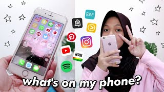 — what's on my phone?📱✨(2019) || indonesia