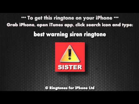 Warning it's the sister (iPhone Ringtone)