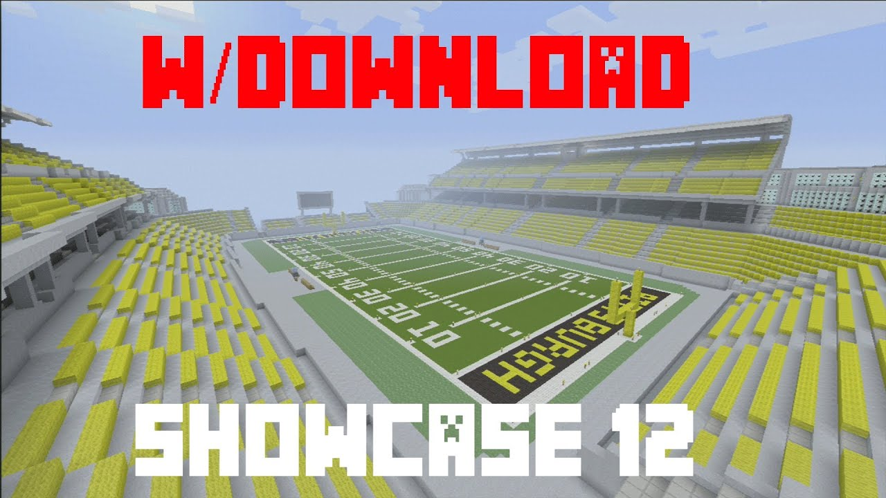 Minecraft Xbox 360 - Football Stadium (w/Download) - YouTube