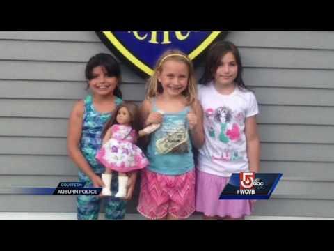 Young entrepreneurs raise money for fallen officer's fund