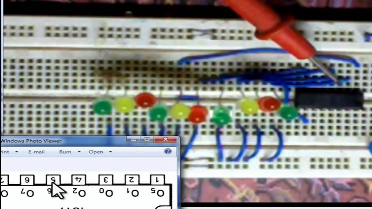 Proyek Menggunakan Ic 4017 Counter Dan Decoder By Aris Zainul Muttaqin Circuit Desolator Latching Relay
