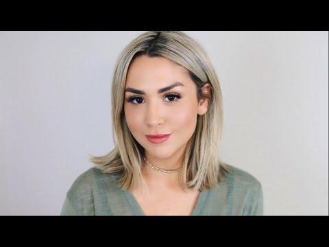 Alexandrea Garza's Glowy Look Tutorial & Makeup Tips   EcoTools