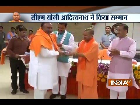 Yogi Adityanath invites Ministers and MLA for Falahari party, on the occasion of Navratri
