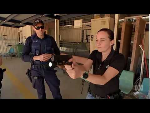 New weapons technology allows Qld police to combine flashlight with guns