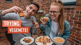 Americans Try Vegemite for the FIRST TIME! - Cheesy Scrolls, Toast & MORE! (Melbourne)