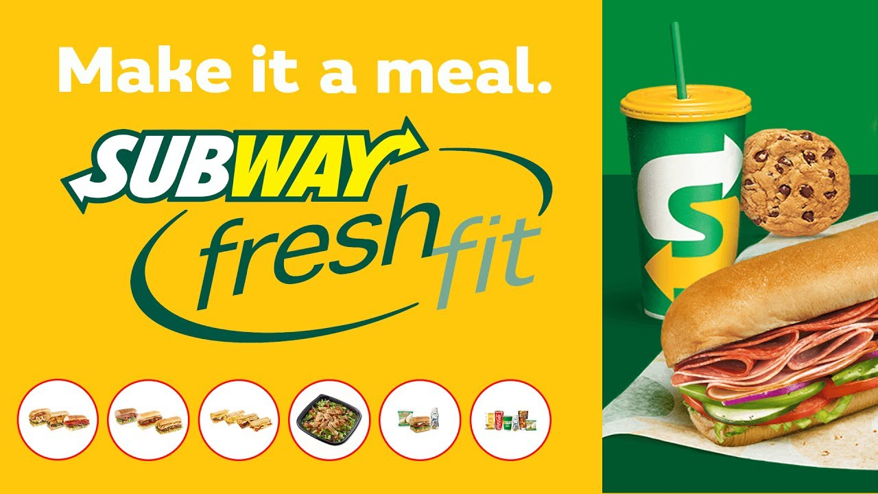 Subway menu meal deal