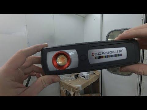 Scangrip Sunmatch 3. Обзор глазами маляра лампы колориста