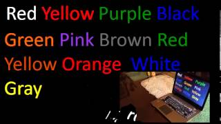 Stroop Effect Experiment!