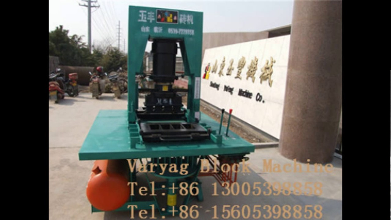 Kerb stone making machine YuFeng machines