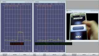 速度測定中にソフトバンク2.1GHz帯から1.5GHz帯(ULTRA SPEED)への切り替え
