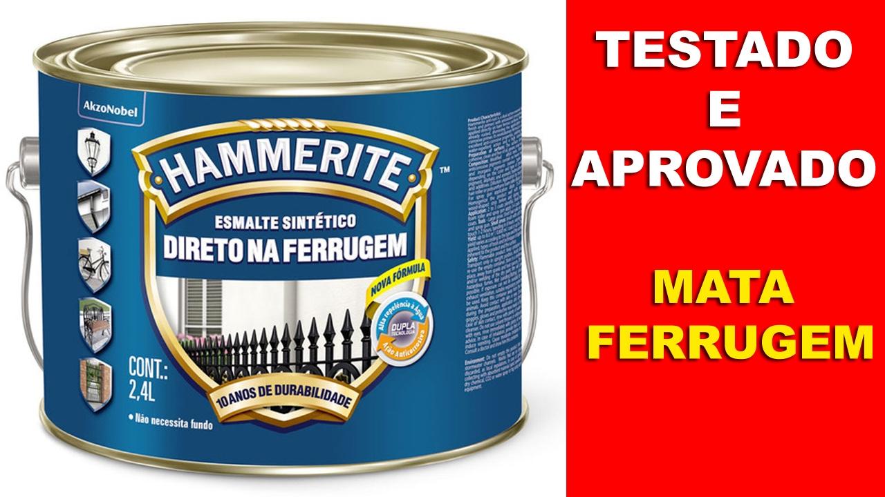 Hammerite - Mata Ferrugem - YouTube