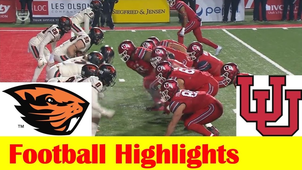 Utah football falls to Oregon State after blowing early lead