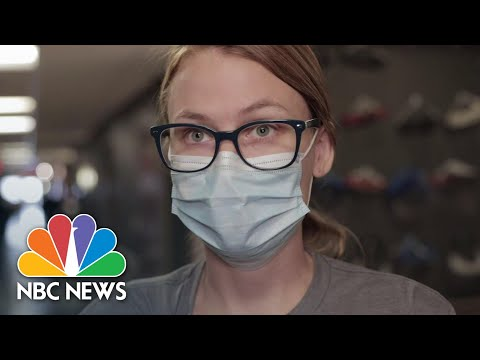 Nebraska ICU Nurse Asks For Community's Help Fighting Covid | NBC News NOW