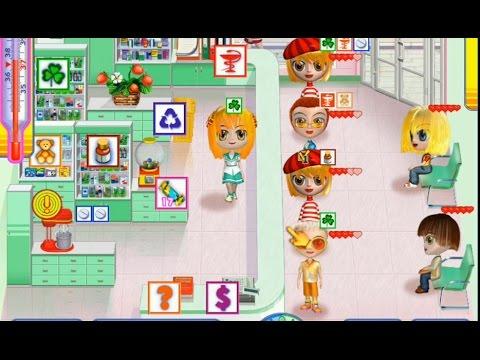 Игра Аптечный переполох - геймплей
