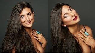 First Natural Makeup Tutorial + Review | Vegan, Organic, & Non-Toxic