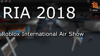 ROBLOX | RIA 2018 Day 2 | Exploring Booths & Planes!