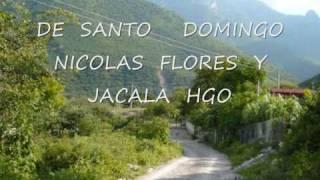 DE SANTO DOMINGO NICOLAS FLORES Y JACALA HGO