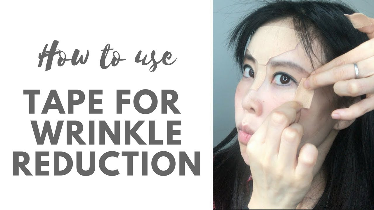 Kt Tape For Wrinkle Reduction Olympian Uses Kt Tape And We Can Use It For Wrinkle Reduction Too Youtube