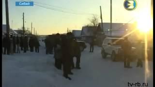 В автосервисе Сибая сгорели 6 автомобилей, январь 2013