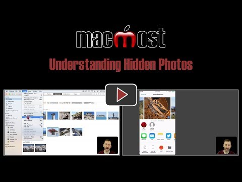 How to view a hidden photo on iphoto