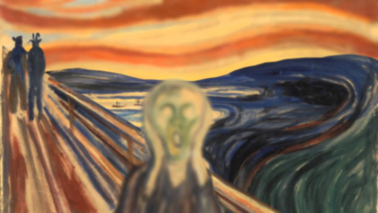 an analysis of the artwork the scream by edvard munch The scream 1893 - edvard munch oil paintings at paintingmaniacom, hand-painted oil painting reproductions at wholesale prices.
