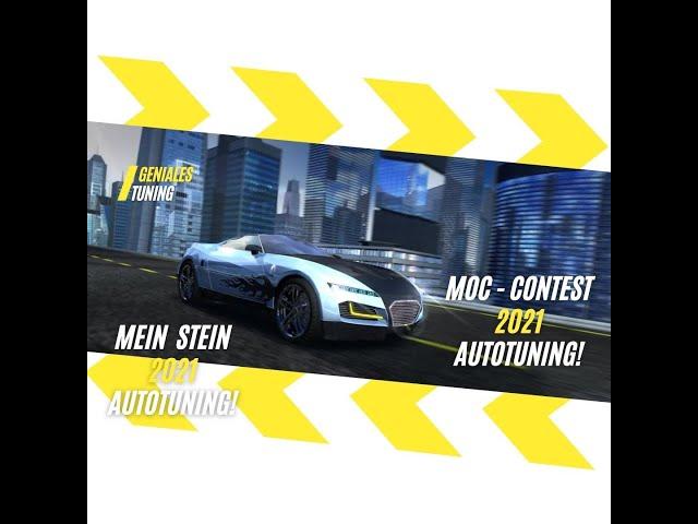 Lego MOC Contest Autotuning Speed Champions 2021 das Extrem Keil-Fahrwerk von Mein Stein