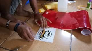 Cara Membuat Cutting Sticker Part 4