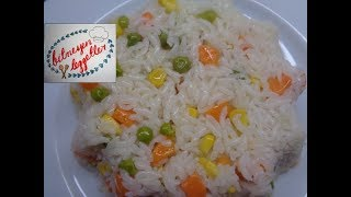 Sebzeli Pirinç Pilavı Tarifi - Bitmeyen Lezzetler