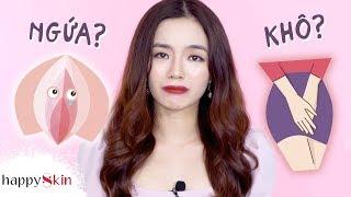 """5 sai lầm """"kinh điển"""" của phụ nữ Việt khi VỆ SINH VÙNG KÍN ❌  FEMININE HYGIENE MISTAKES   Happy Skin"""