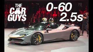 FIRST LOOK - Ferrari SF90 Stradale - and YOU'RE coming too!