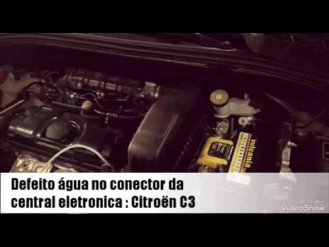 Citroën C3 problema injeção eletronica