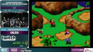Super Mario RPG by LackAttack24, Super Mario 64, and Finale - SGDQ 2016 - Part 173