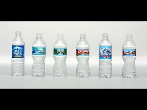 How water bottle companies get the water